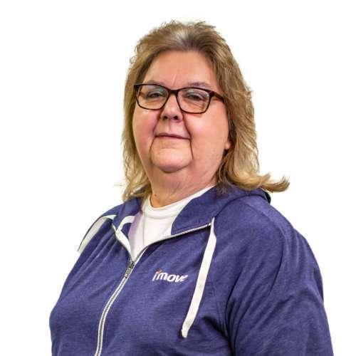 Sue Collins, Scheduler, I'move, Spring Lake, Michigan