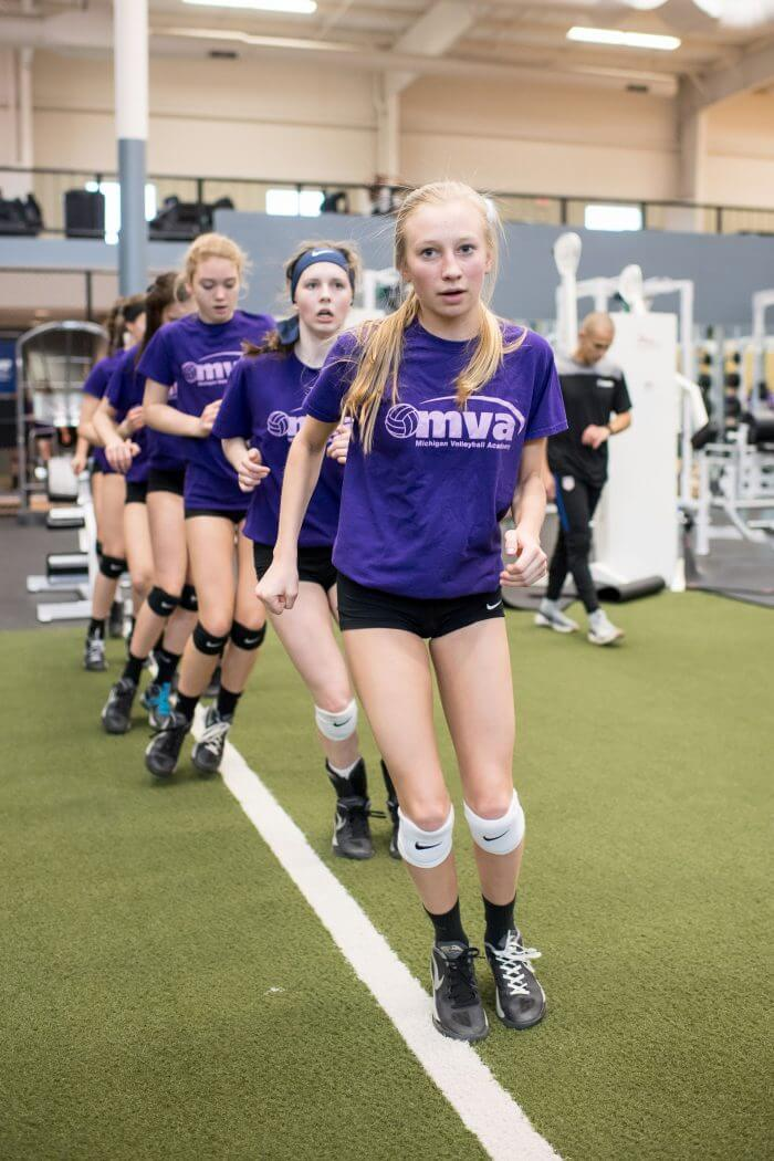 MSA athletes train with i'move