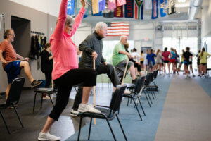i'move woman exercising