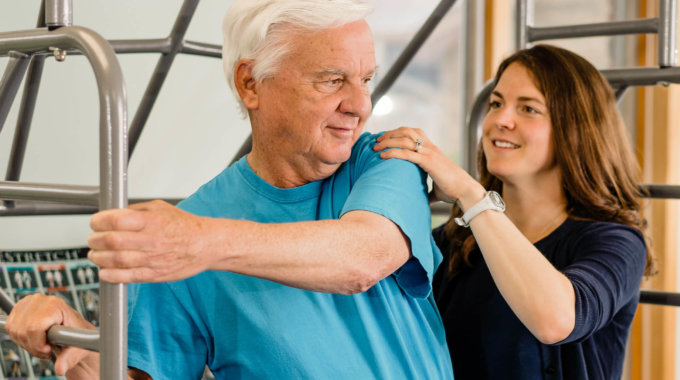 Older Male Physical Therapy
