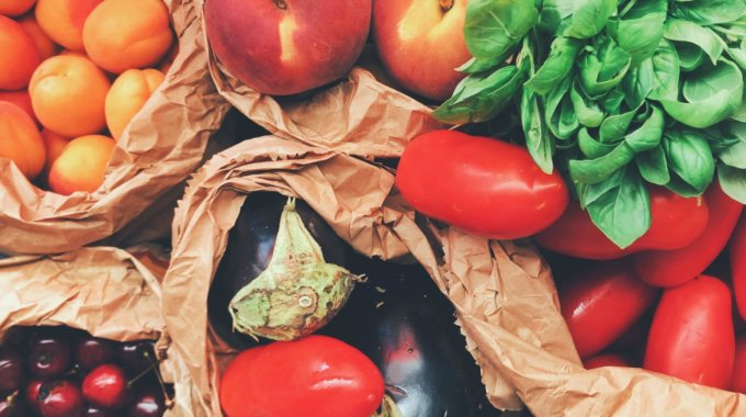 Healthy Fruits And Veggies